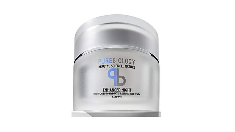 pure biology anti aging night cream 3
